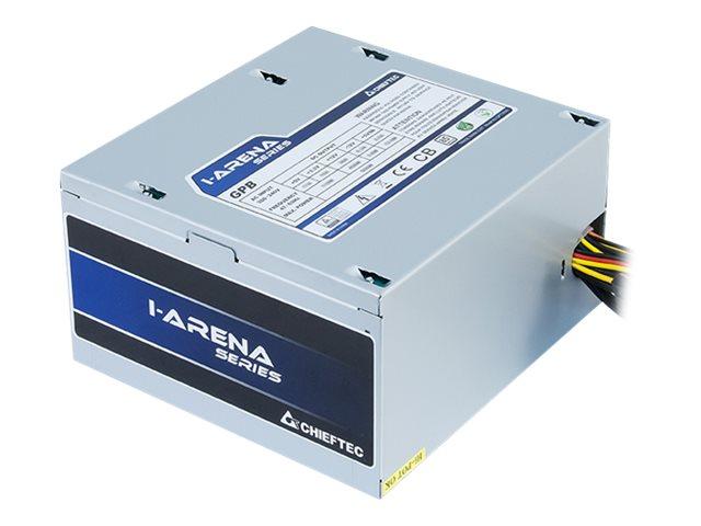 Chieftec iARENA GPB-350S - Stromversorgung (intern) - ATX12V 2.3/ PS/2 - 80 PLUS Bronze - Wechselstrom 230 V - 350 Watt