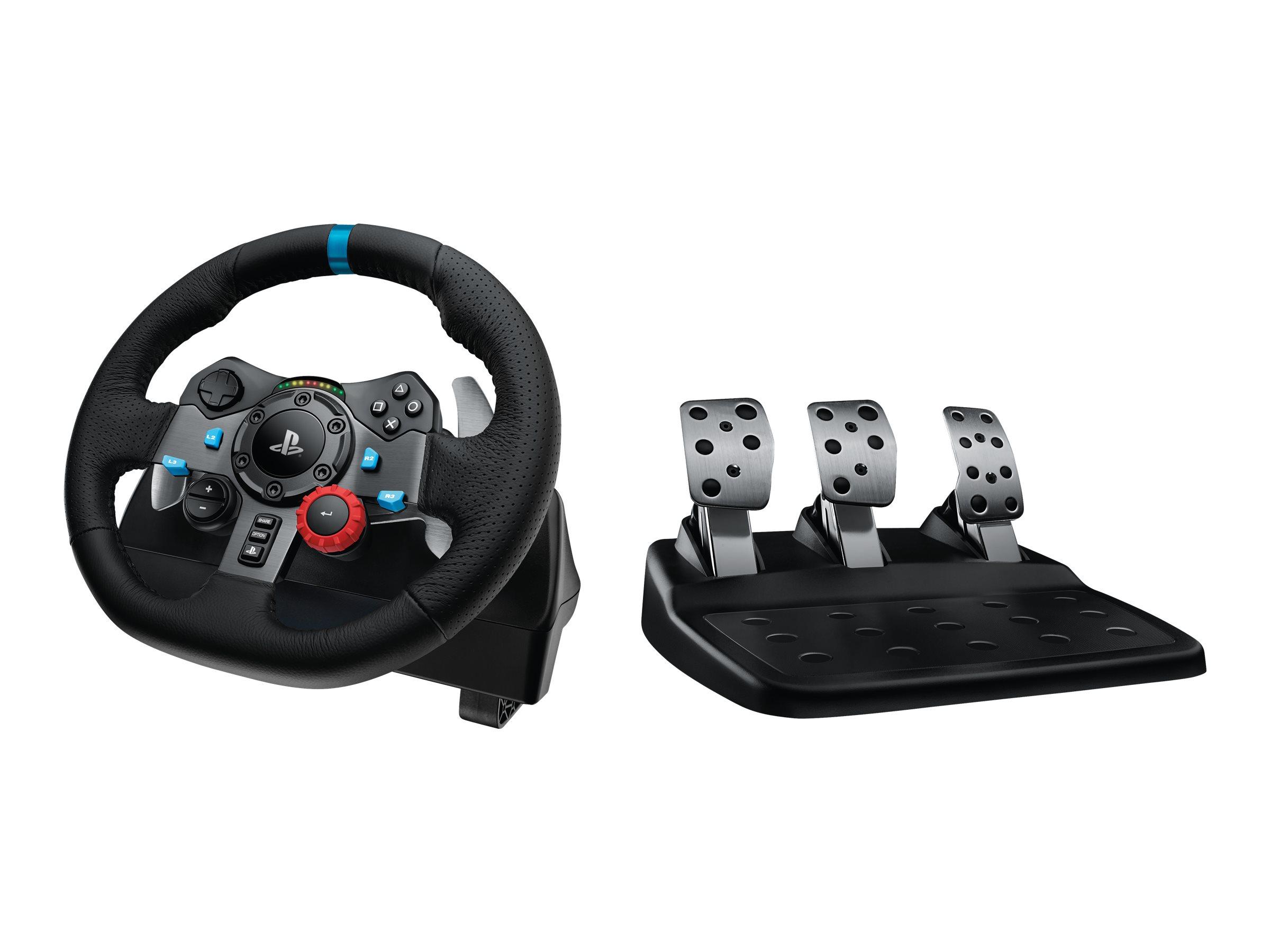 Logitech G29 Driving Force - Lenkrad- und Pedale-Set - kabelgebunden - für Sony PlayStation 3, Sony PlayStation 4