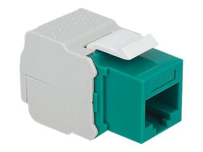 DeLOCK Keystone module - Modulare Eingabe - RJ-45 - grün