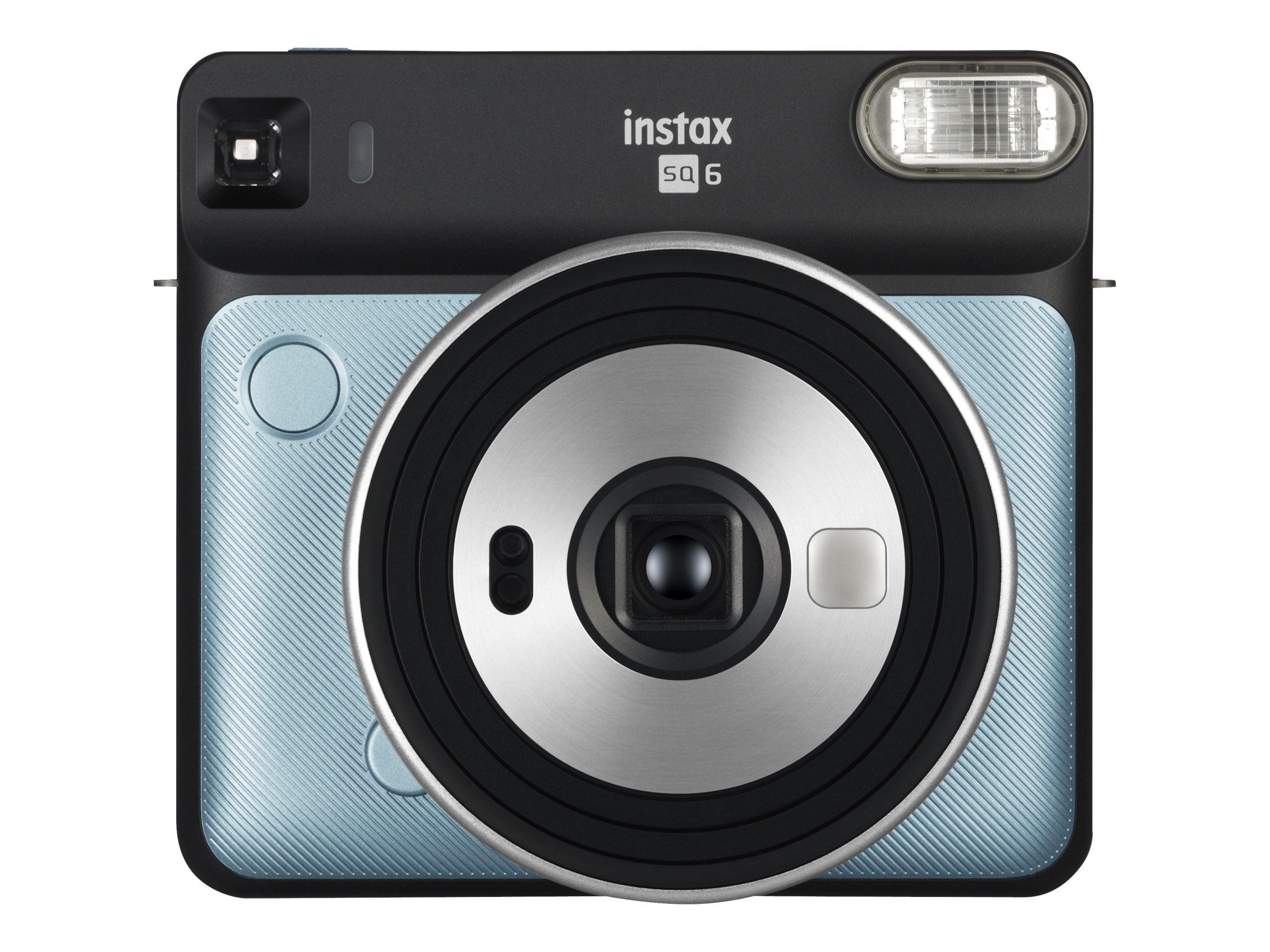Fujifilm Instax SQUARE SQ6 - Instant Kamera - Objektiv: 65.75 mm Aqua Blue