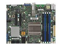SUPERMICRO X10SDV-2C-7TP4F - Motherboard - FlexATX - Intel Pentium D1508 - USB 3.0 - 2 x 10 Gigabit LAN, 2 x Gigabit LAN
