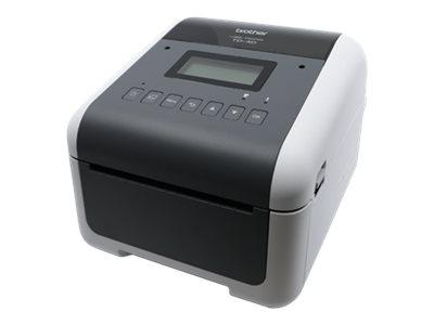 Brother TD-4550DNWB - Etikettendrucker - Thermopapier - Rolle (11,8 cm) - 300 x 300 dpi - bis zu 152.4 mm/Sek.
