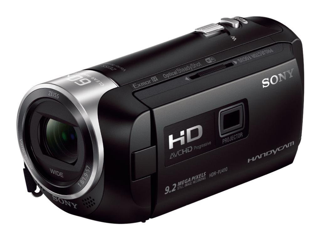 Sony Handycam HDR-PJ410 - Camcorder mit Projektor - 1080p - 2.51 MPix - 30x optischer Zoom - Carl Zeiss