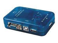 M-CAB - KVM-/USB-Switch - 2 x KVM / USB - 1 lokaler Benutzer - Desktop