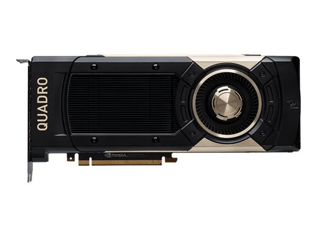 NVIDIA Quadro GV100 - Grafikkarten - Quadro GV100 - 32 GB HBM2 - PCIe 3.0 x16 - 4 x DisplayPort