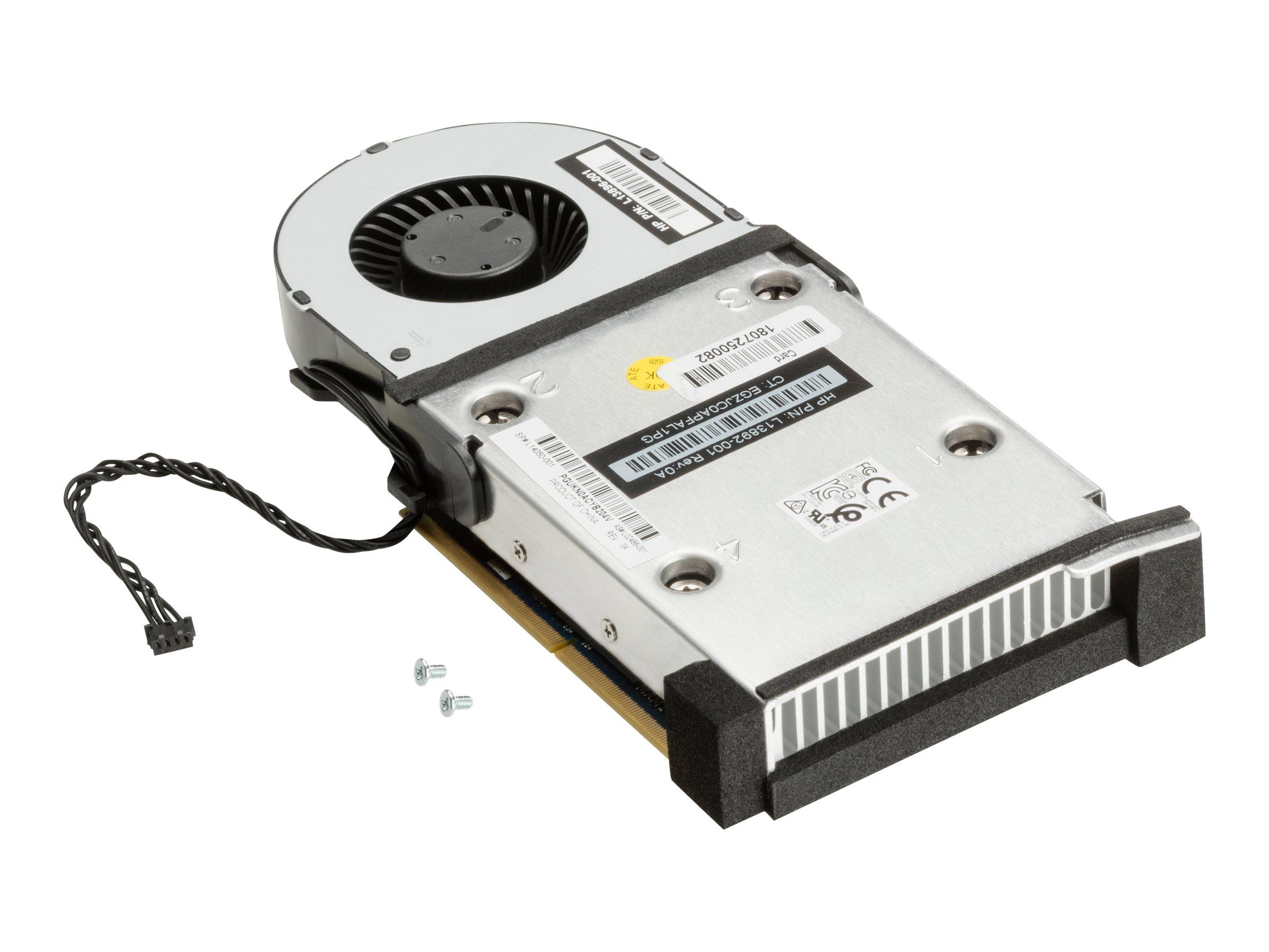 NVIDIA Quadro P600 MXM kit - Grafikkarten - 1 GPUs - Quadro P600 - 4 GB GDDR5 - für Workstation Z2 Mini G4 Performance