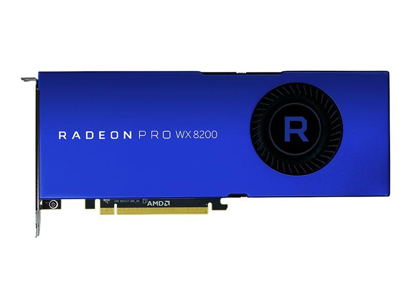 Radeon Pro WX 8200 - Grafikkarten - Radeon Pro WX 8200 - 8 GB HBM2 - PCIe 3.0 x16 - 4 x Mini DisplayPort