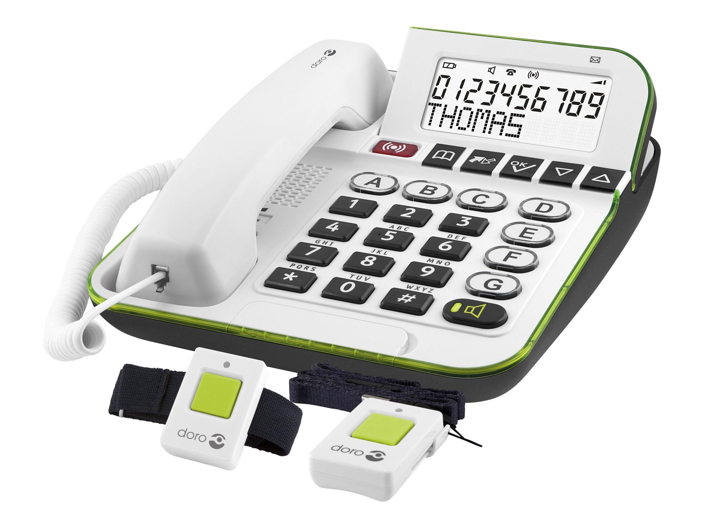 Doro CarePlus 350c - Telefon mit Schnur mit Rufnummernanzeige