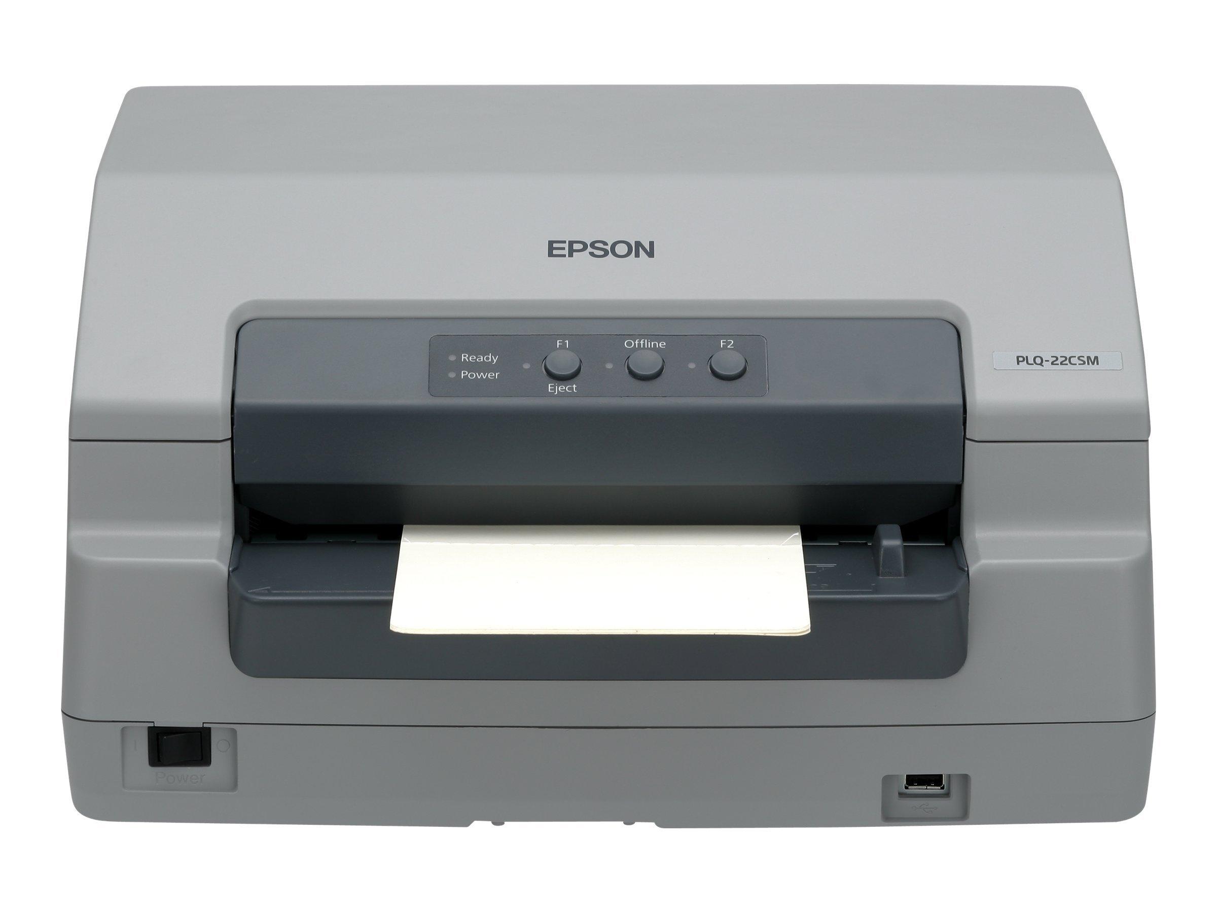 Epson PLQ 22CS - Sparbuchdrucker - monochrom - Punktmatrix - A4 - 24 Pin