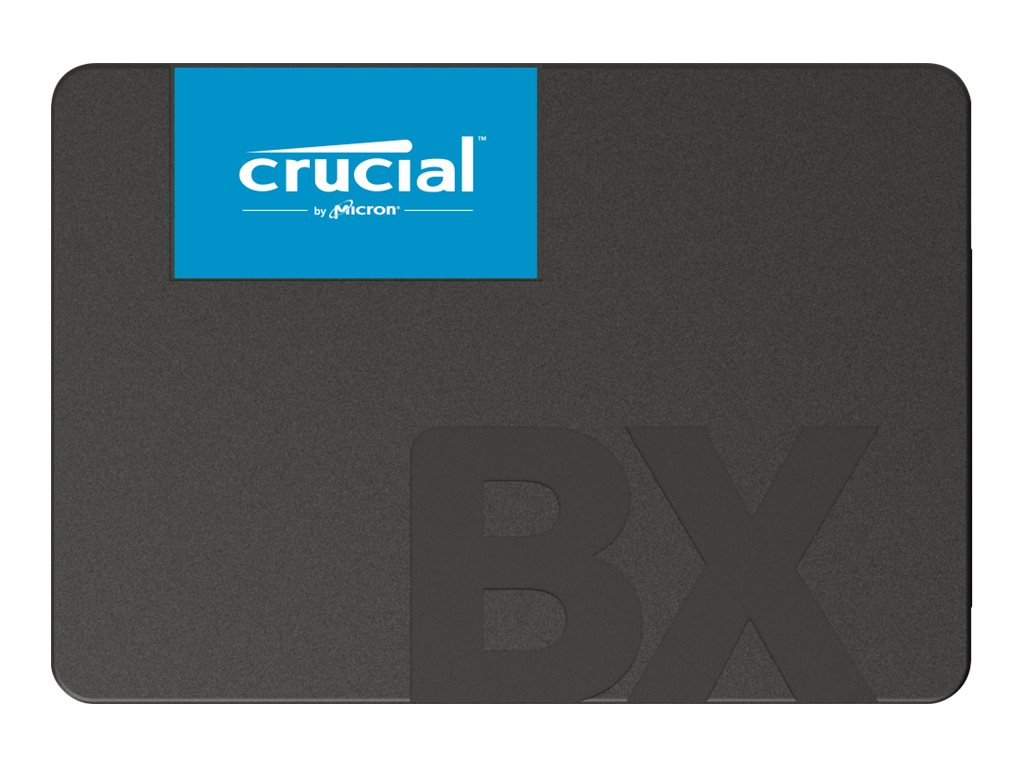 Crucial BX500 - Solid-State-Disk - 480 GB - intern - 2.5