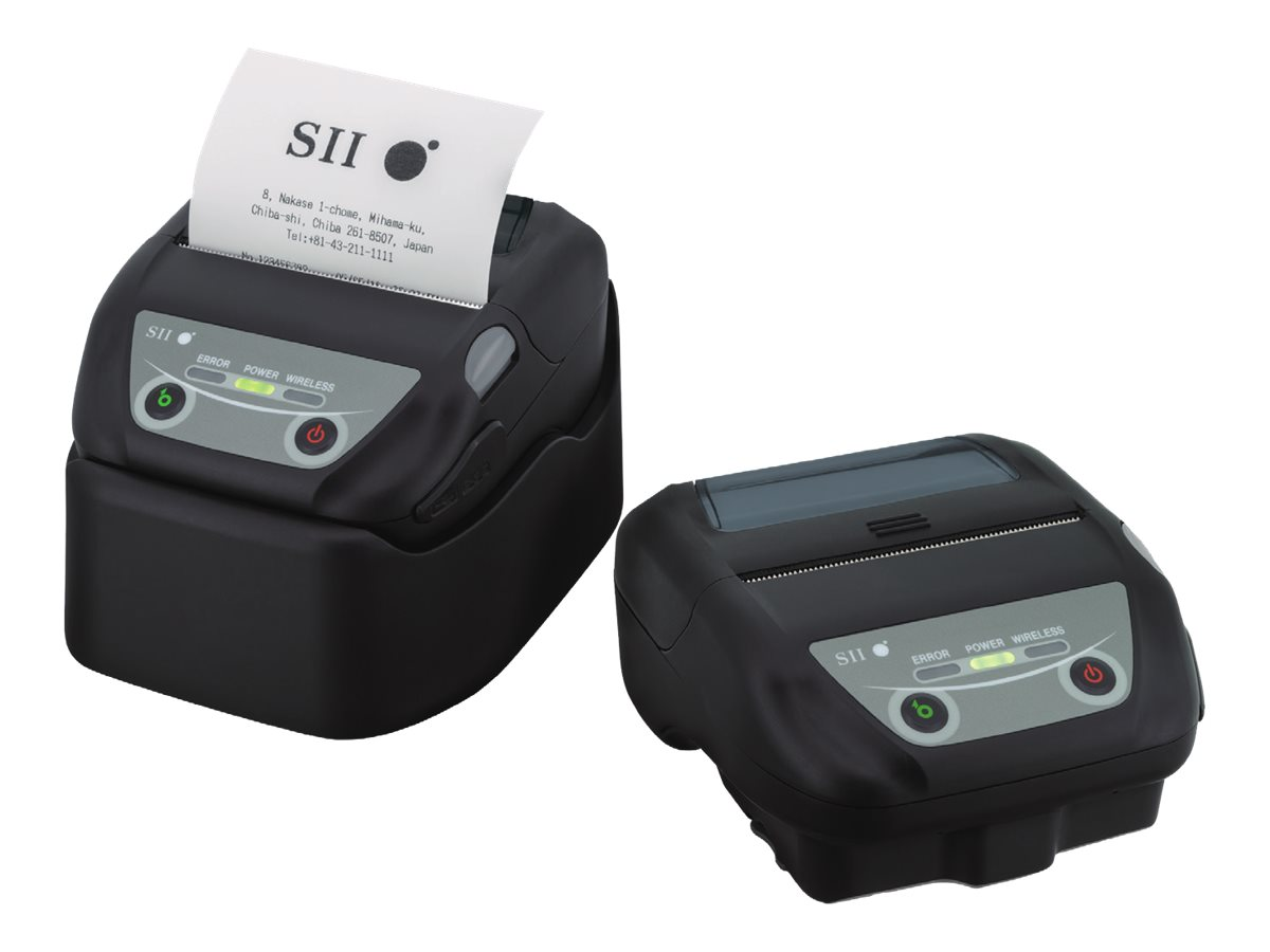 Seiko Instruments MP-B30 - Etikettendrucker - Thermozeile - 8 cm Rolle - bis zu 127 mm/Sek. - USB, Bluetooth, Wi-Fi