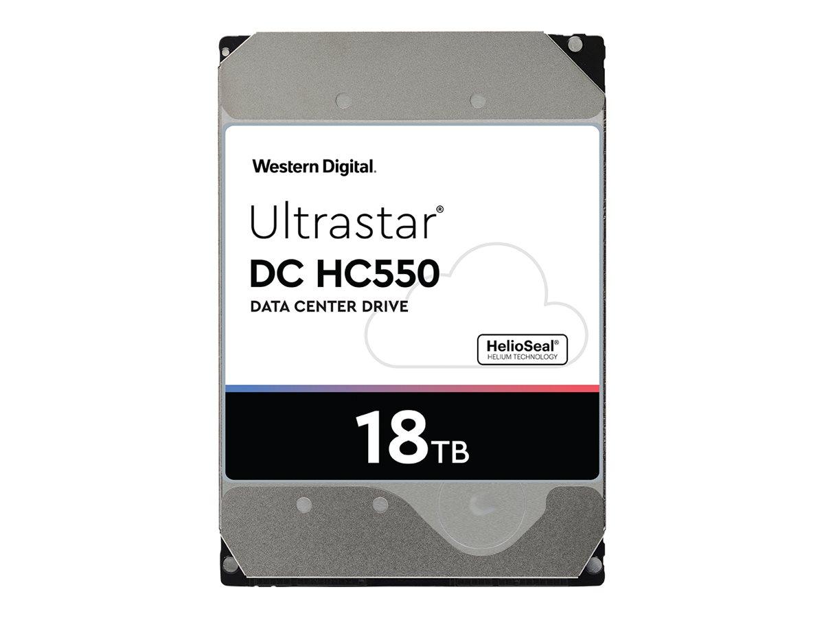 WD Ultrastar DC HC550 WUH721818AL5201 - Festplatte - verschlüsselt - 18 TB - intern - 3.5