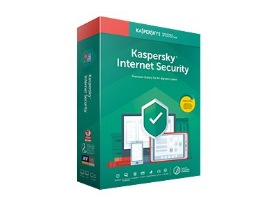 Kaspersky Internet Security 2020 - Box-Pack (Upgrade) (1 Jahr) - 5 Peripheriegeräte (Sierra) - Code in a Box - Win, Mac, Android