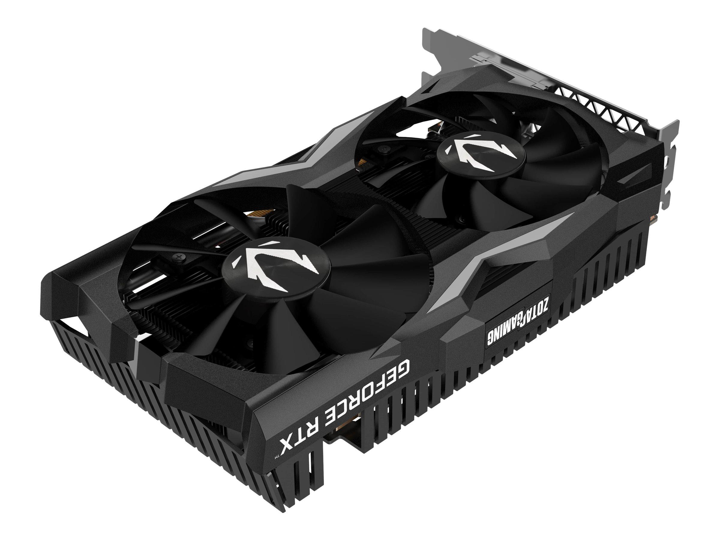 ZOTAC GAMING GeForce RTX 2070 OC MINI - Grafikkarten - GF RTX 2070 - 8 GB GDDR6 - PCIe 3.0 x16 - DVI, HDMI, 3 x DisplayPort