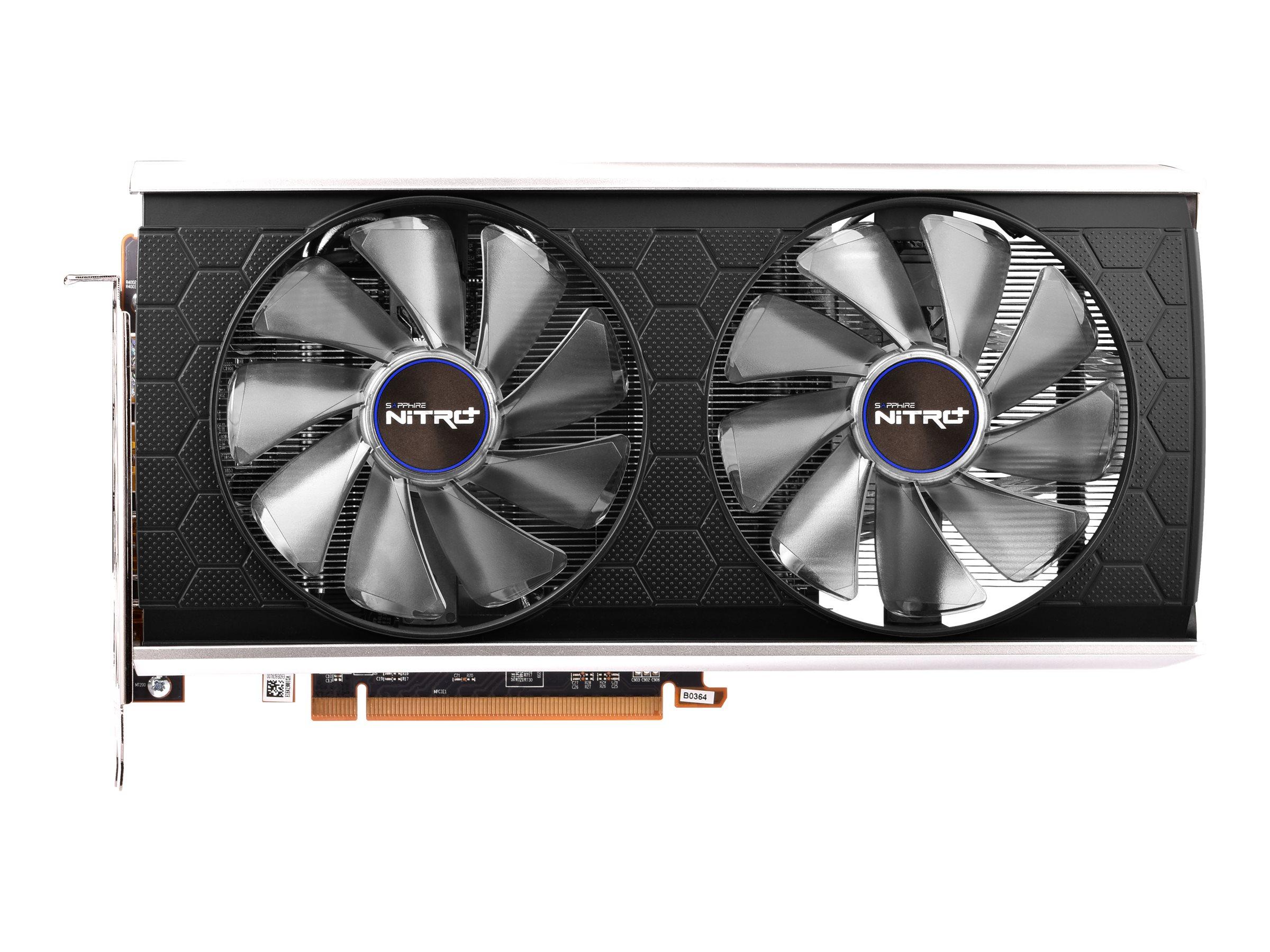Sapphire NITRO+ RX 5500 XT - Special Edition - Grafikkarten - Radeon RX 5500 XT - 8 GB GDDR6 - PCIe 4.0