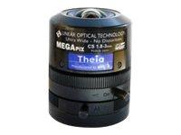 Theia Ultra Wide - CCTV-Objektiv - verschiedene Brennweiten - Automatische Irisblende - 10.2 mm (1/2.5