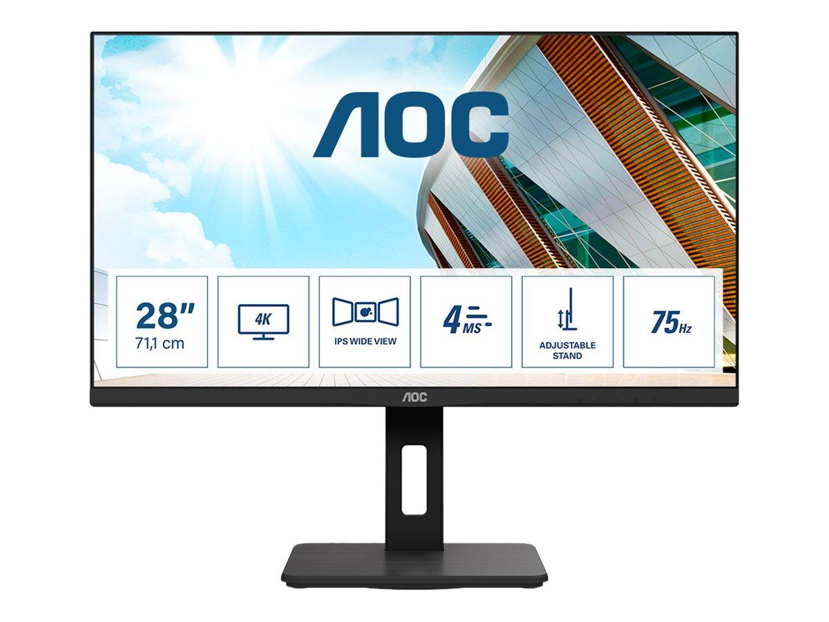 AOC U28P2A - LED-Monitor - 71.1 cm (28