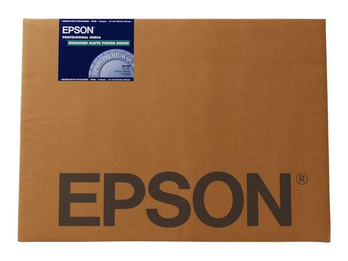 Epson Enhanced - Matt - A2 (420 x 594 mm) 20 Blatt Poster - für SureColor P5000, P800, SC-P10000, P20000, P5000, P7500, P900, P9