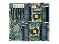 SUPERMICRO X10DRi-T4+ - Motherboard - verbessertes, erweitertes ATX - LGA2011-v3-Sockel - 2 Unterstützte CPUs - C612