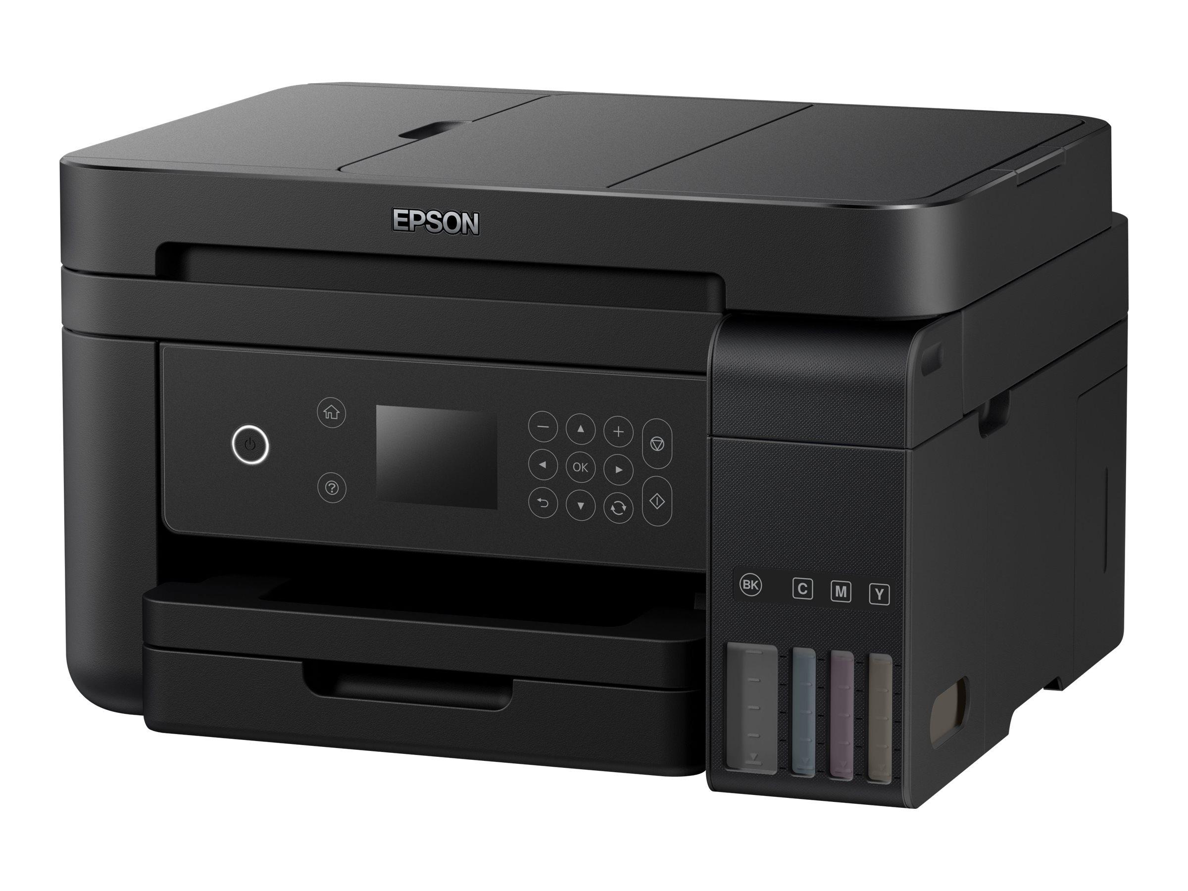 Epson EcoTank ET-3750 - Multifunktionsdrucker - Farbe - Tintenstrahl - A4 (210 x 297 mm) (Original) - A4/Legal (Medien)