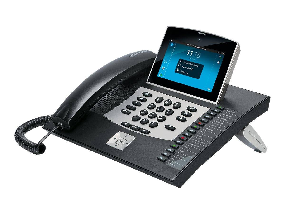 Auerswald COMfortel 3600 IP - VoIP-Telefon - SIP, SRTP - Schwarz