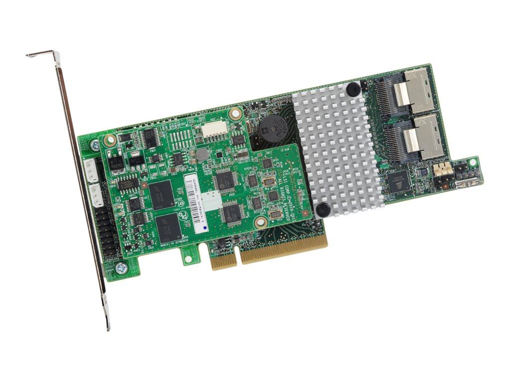 LSI MegaRAID SAS 9271-8i - Speichercontroller (RAID) - 8 Sender/Kanal - SAS Low-Profile - 600 MBps - RAID 0, 1, 5, 6, 10, 50, 60