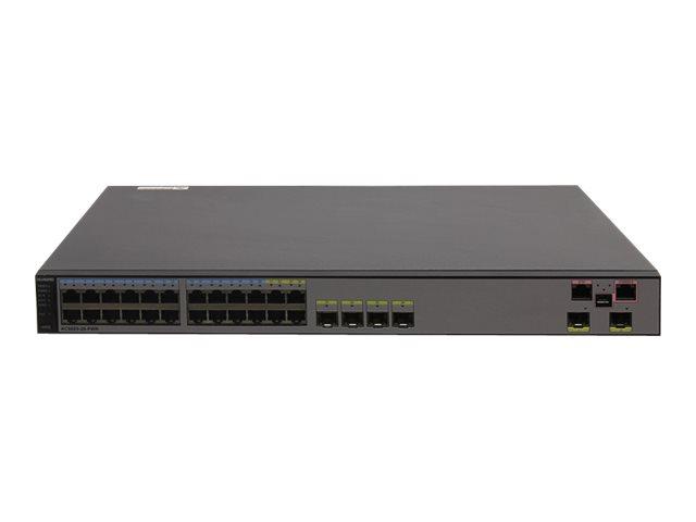 Huawei AC6605-26-PWR Access Controller - Netzwerk-Verwaltungsgerät - 16 MAPs (verwaltete Zugriffspunkte) - GigE - 1U - Rack-mont