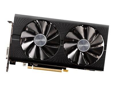 Sapphire Pulse Radeon RX 590 - Grafikkarten - Radeon RX 590 - 8 GB GDDR5 - PCIe 3.0 x16 - DVI, 2 x HDMI, 2 x DisplayPort