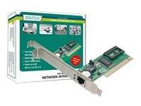 DIGITUS DN-1001J - Netzwerkadapter - PCI - 10/100 Ethernet
