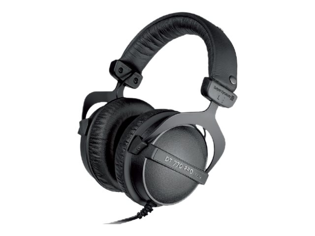 beyerdynamic DT 770 Pro (32 Ohm) - Kopfhörer - Full-Size - kabelgebunden - 3,5 mm Stecker