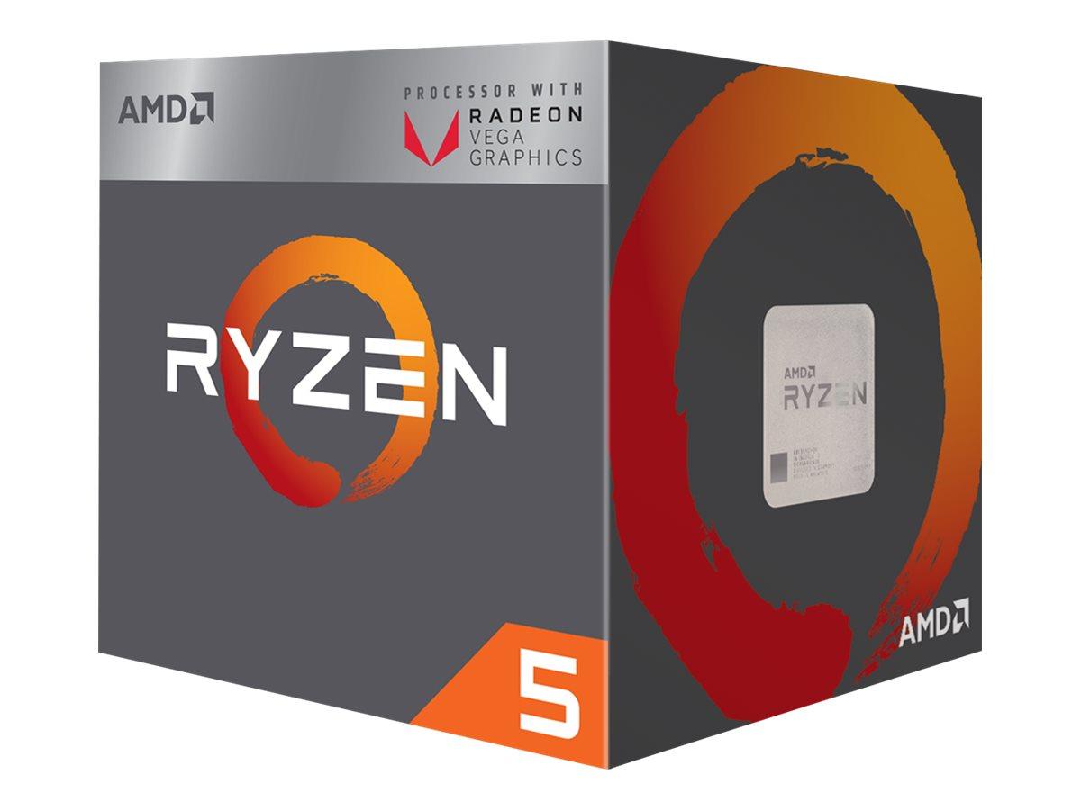 AMD Ryzen 5 1400 - 3.2 GHz - 4 Kerne - 8 Threads - 8 MB Cache-Speicher - Socket AM4