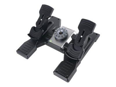 Logitech Flight Rudder Pedals - Pedale - kabelgebunden - für PC
