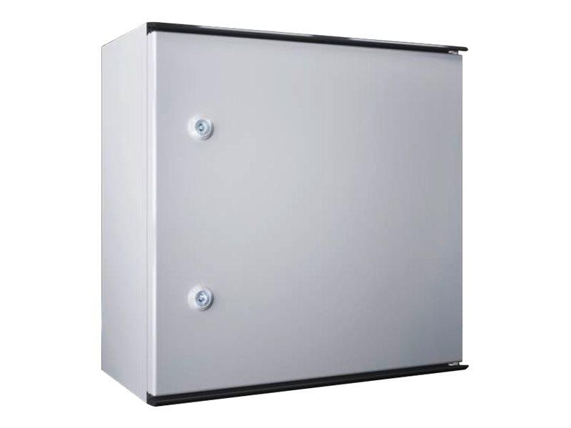 Rittal KS - Schrank für Rack-Gehäuse - geeignet für Wandmontage - RAL 7035