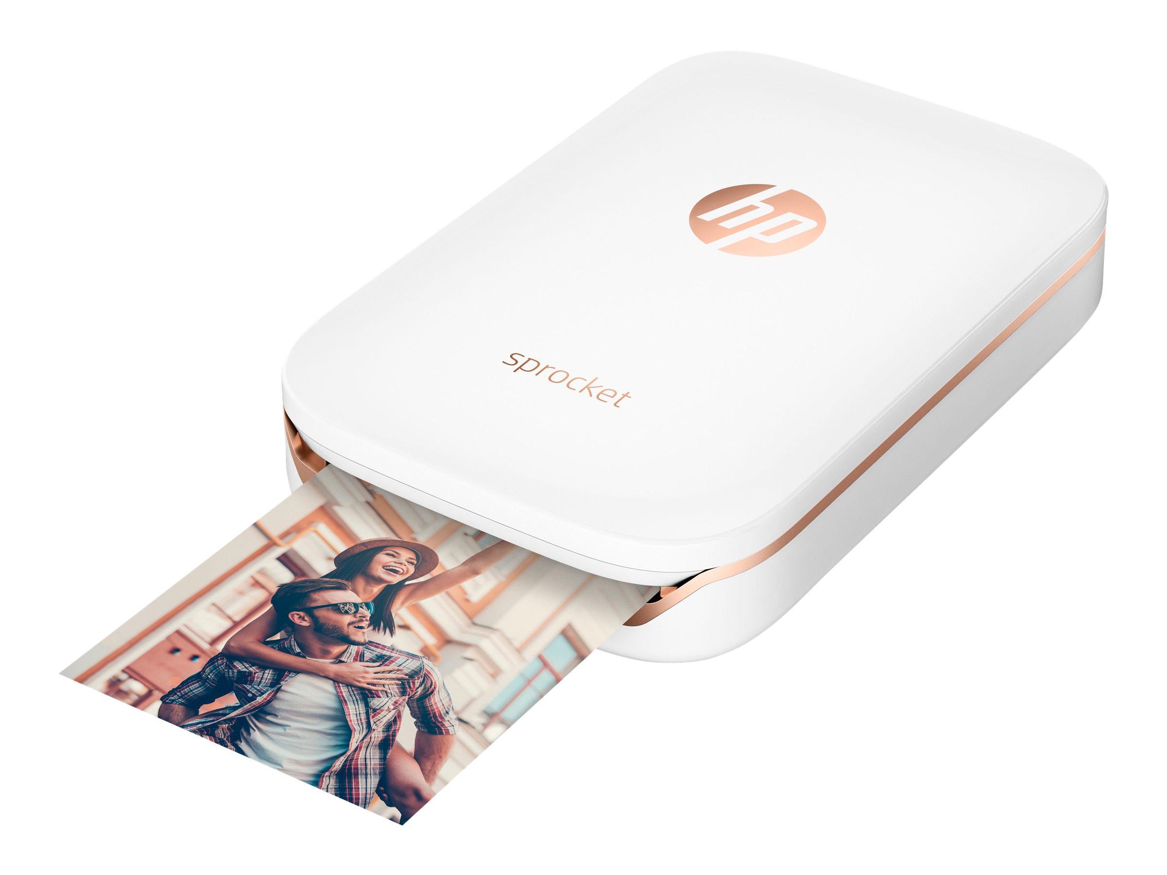 HP Sprocket Photo - Drucker - Farbe - Zink - 50 x 76 mm bis zu 0.67 Min./Seite (Farbe) - Kapazität: 10 Blätter