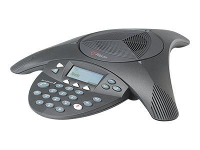 Poly SoundStation2 EX - Konferenztelefon mit Rufnummernanzeige/Anklopffunktion