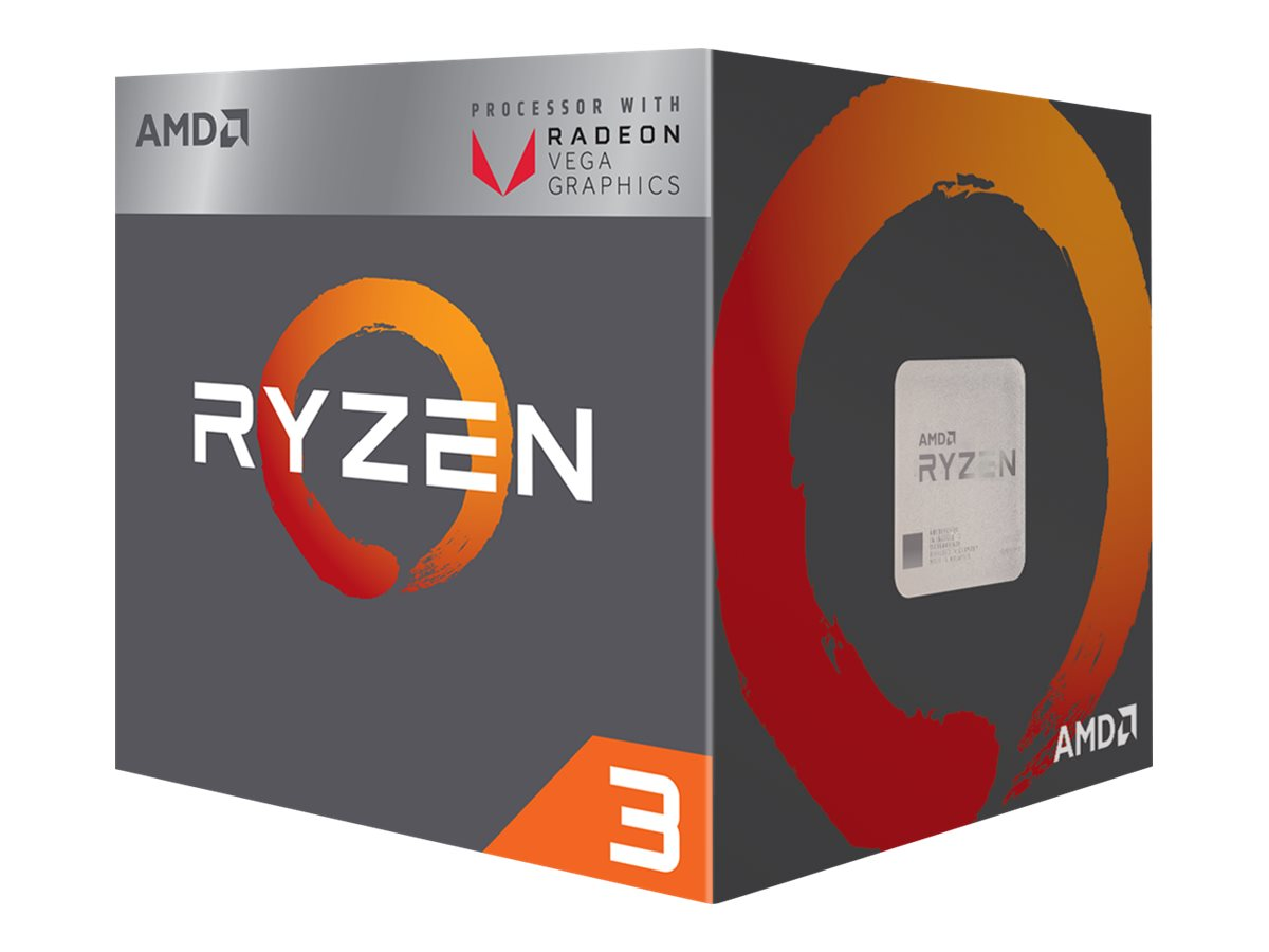 AMD Ryzen 3 2200G - 3.5 GHz - 4 Kerne - 4 Threads - 4 MB Cache-Speicher - Socket AM4