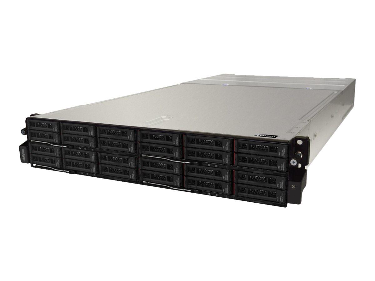 Lenovo Thinksystem Modular 7X22 - Rack - einbaufähig - 2U - bis zu 4 Blades - Stromversorgung Hot-Plug 2000 Watt