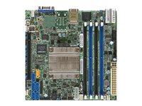 SUPERMICRO X10SDV-F - Motherboard - Mini-ITX - Intel Xeon D-1540 - USB 3.0 - 2 x Gigabit LAN