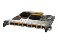 Cisco 8-Port Gigabit Ethernet Shared Port Adapter, Version 2 - Erweiterungsmodul - GigE - 1000Base-X - 8 Anschlüsse - für P/N: 1