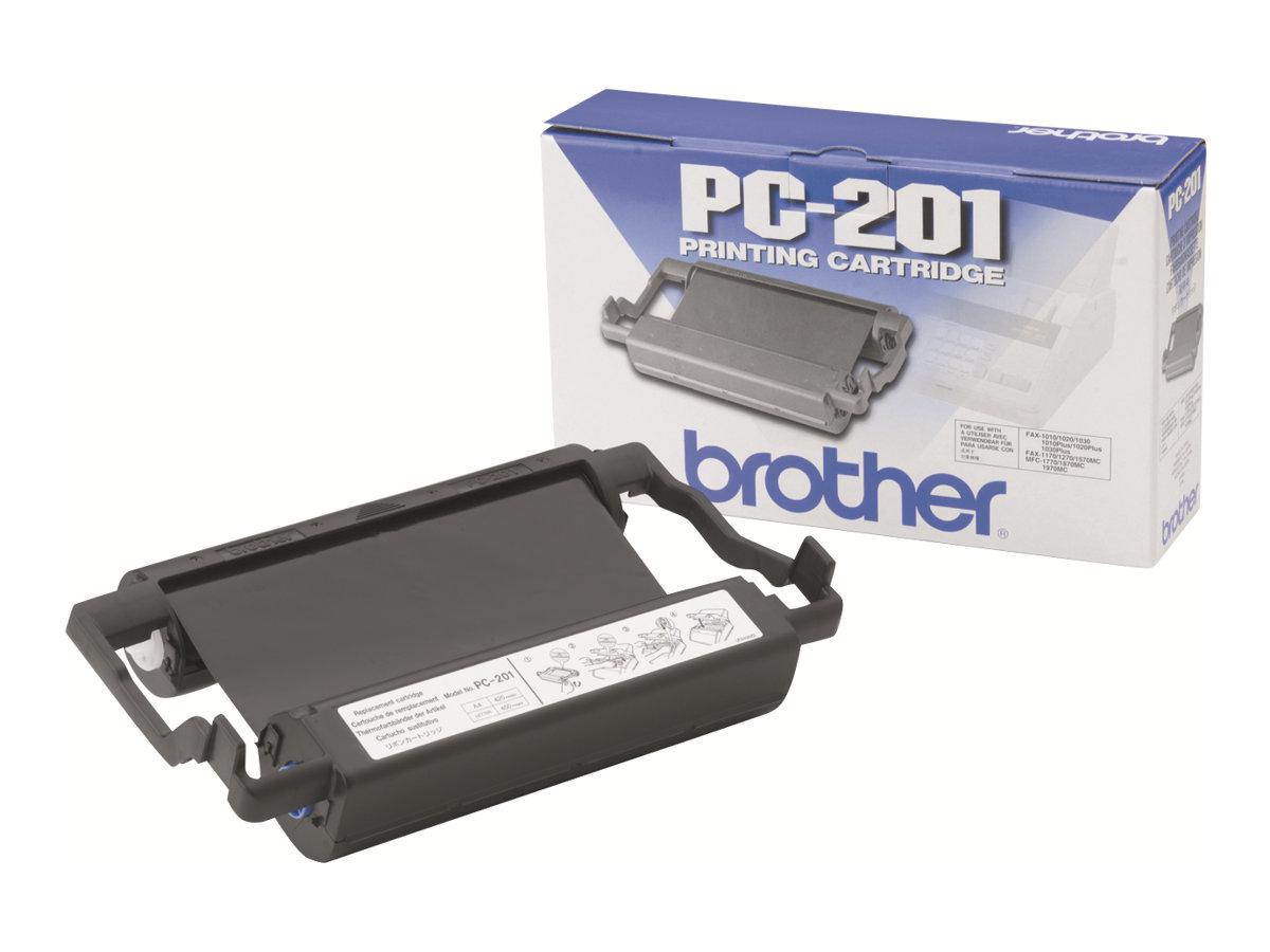 Brother PC201 - 1 - Schwarz - Farbband - für Brother MFC-1770, MFC-1780, MFC-1870, MFC-1970; IntelliFAX 1170, 1270, 1570, 1575