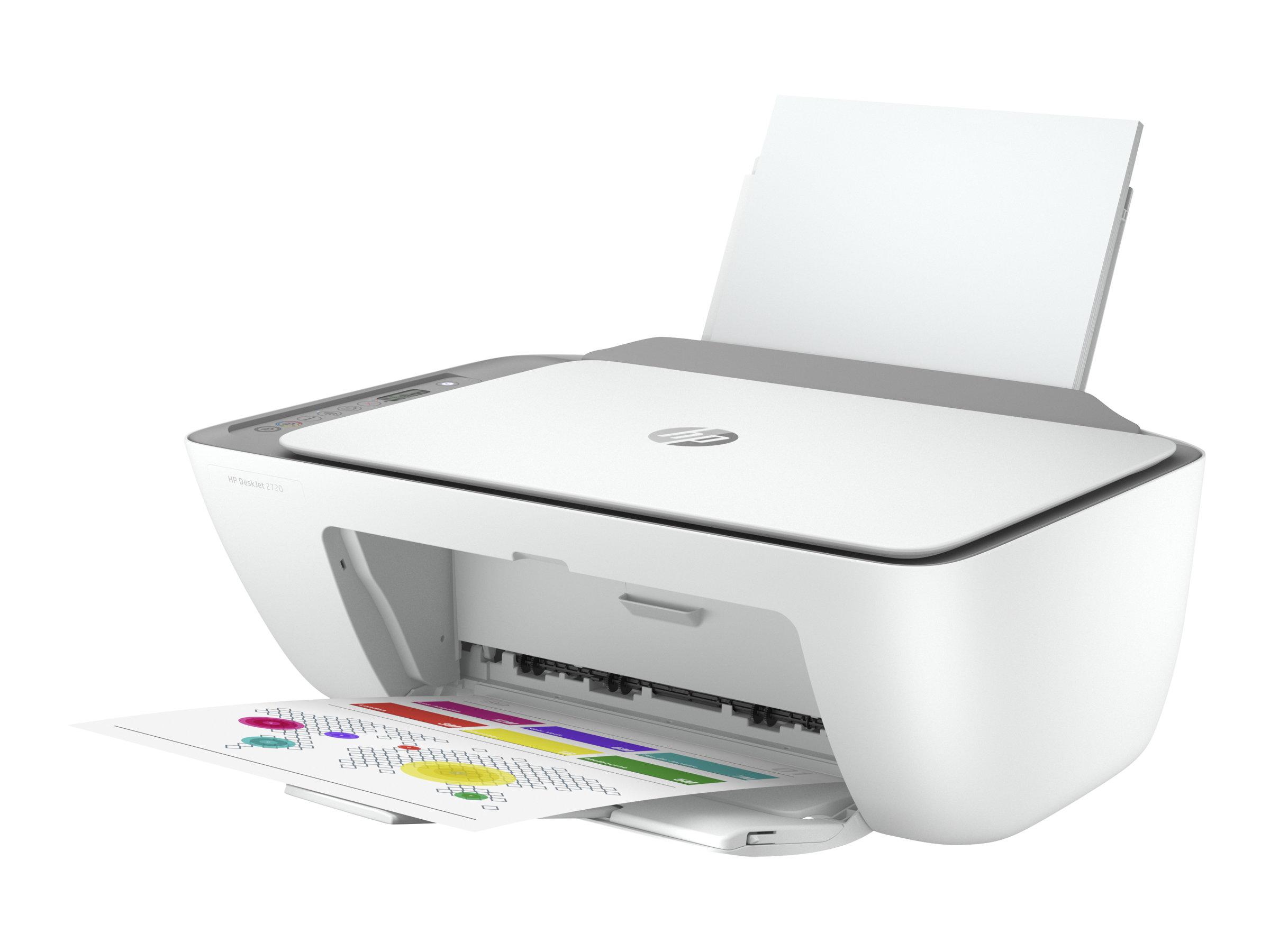 HP Deskjet 2720 All-in-One - Multifunktionsdrucker - Farbe - Tintenstrahl - 216 x 297 mm (Original) - A4/Legal (Medien)