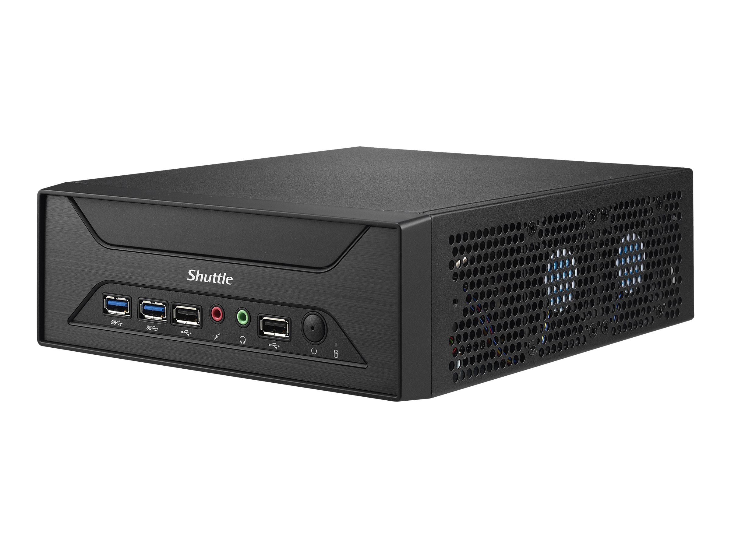 Shuttle XPC slim XH270 - Barebone - Slim-PC - LGA1151 Socket - Intel H270 - GigE