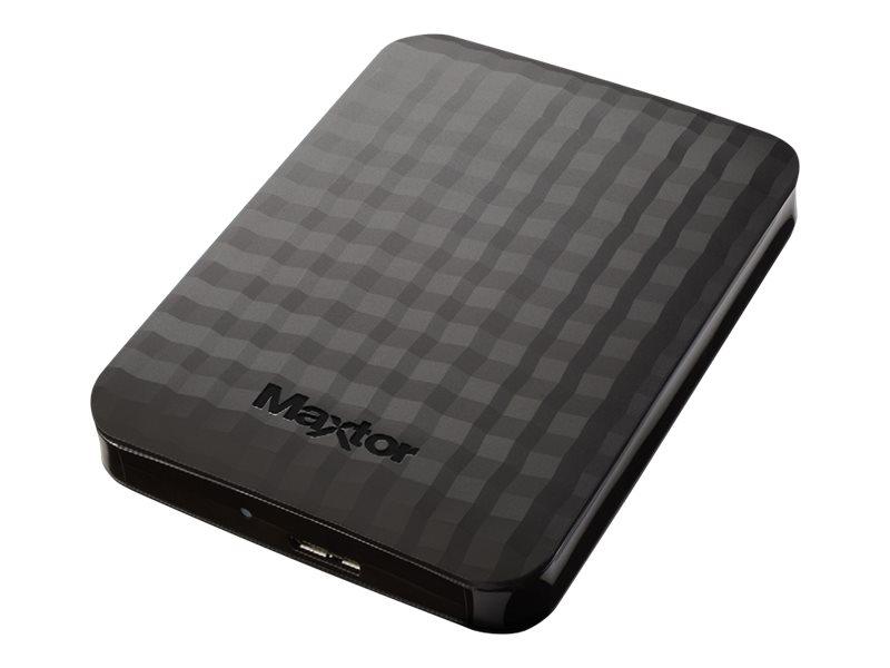 Maxtor M3 STSHX-M500TCBM - Festplatte - 500 GB - extern (tragbar) - USB 3.0 - Schwarz
