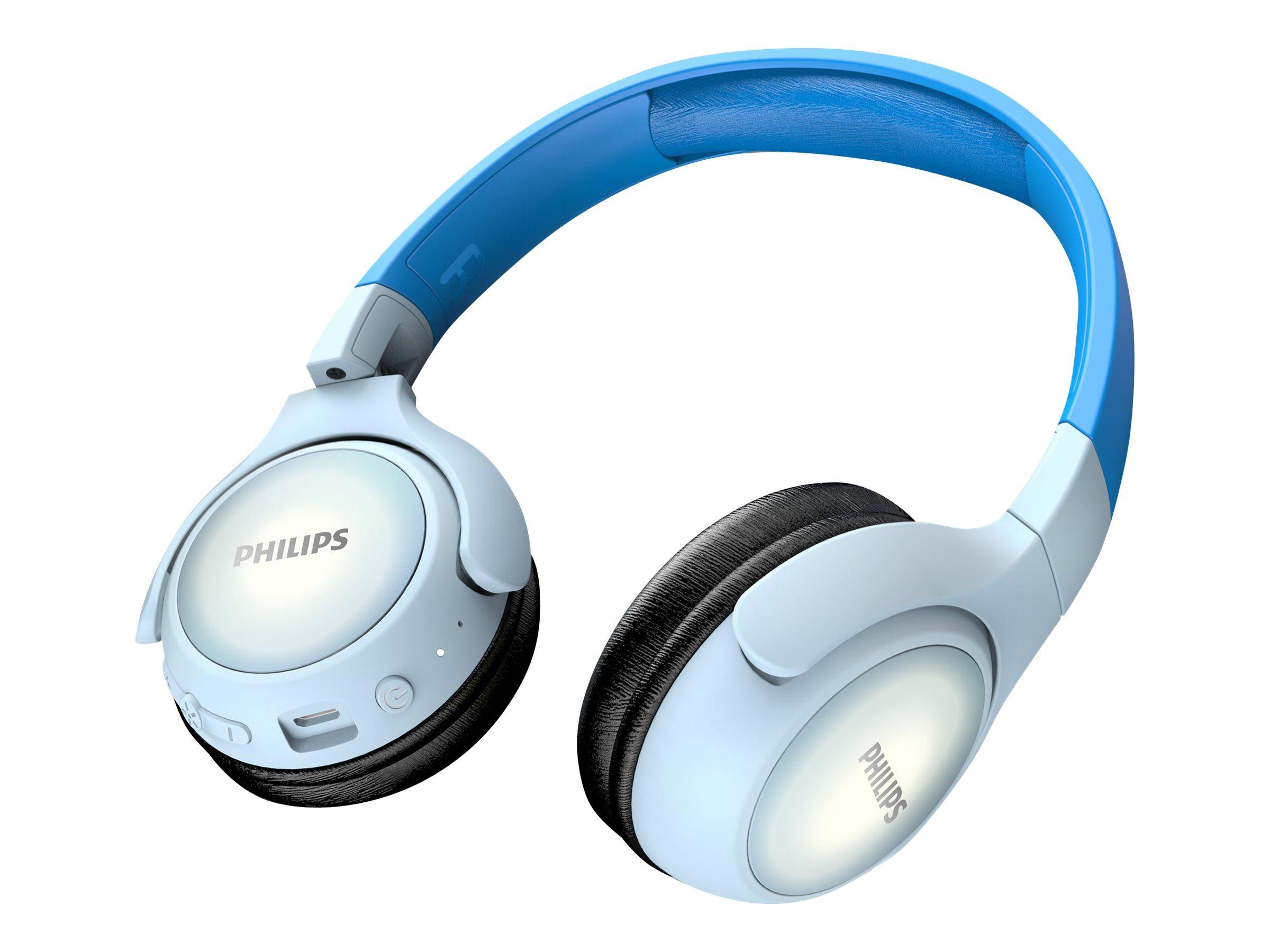 Philips TAKH402BL - Kopfhörer mit Mikrofon - On-Ear - Bluetooth - kabellos - Blau