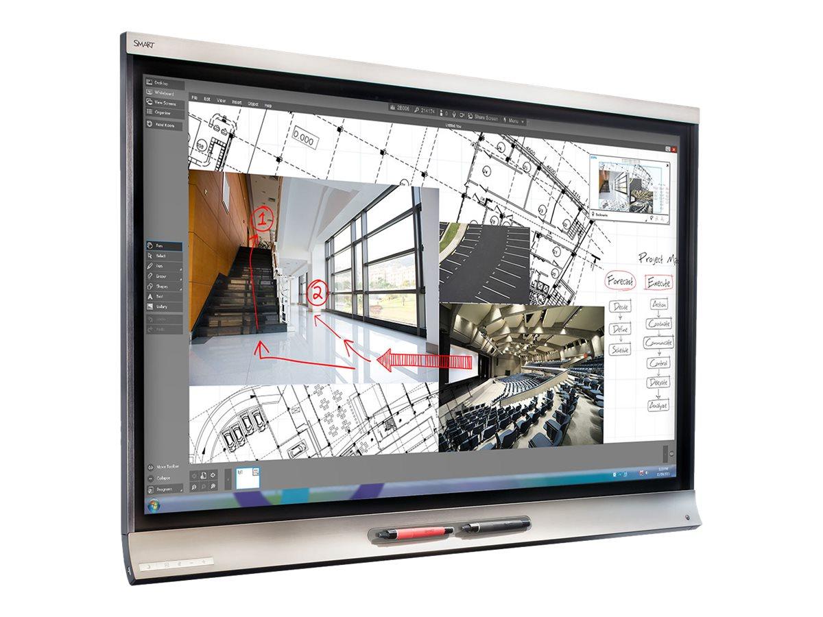SMART Board 6075 Pro interactivedisplay with iQ - 190.5 cm (75