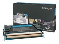 Lexmark - Hohe Ergiebigkeit - Cyan - Original - Tonerpatrone LCCP - für Lexmark C736dn, C736dtn, C736N, X736de, X738de, X738dte