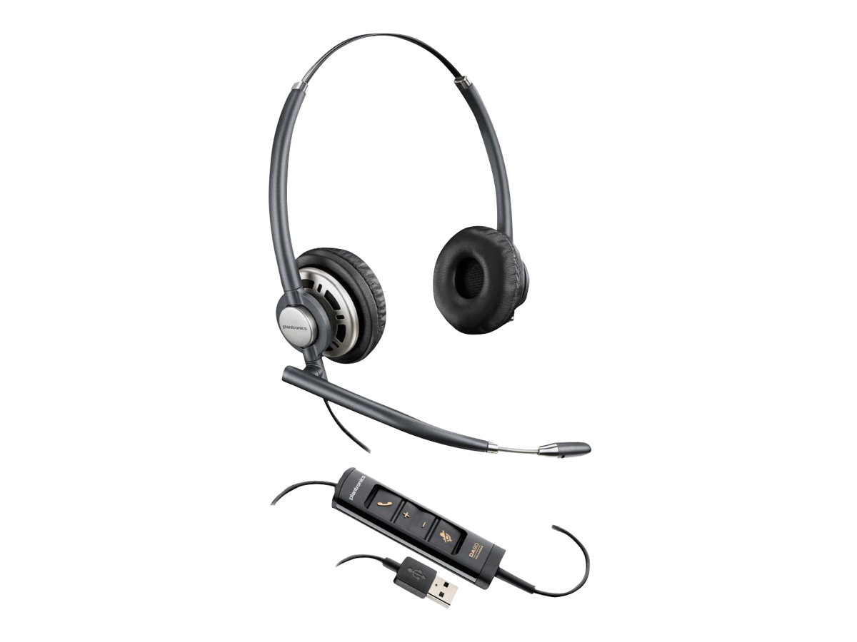 Poly EncorePro HW725 - Headset - On-Ear - kabelgebunden - USB