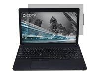 DICOTA - Blickschutzfilter für Notebook - 2-Wege - Halter/Klebepunkte - 29,5 cm Breitbild (11,6