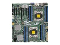 SUPERMICRO X10DRH-C - Motherboard - Erweitertes ATX - LGA2011-v3-Sockel - 2 Unterstützte CPUs - C612