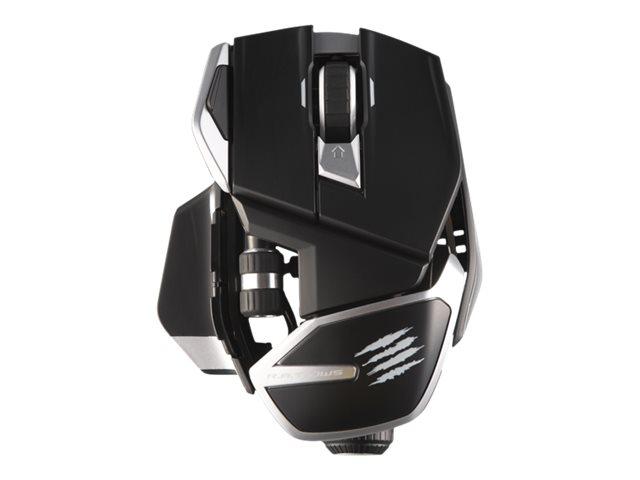 Mad Catz R.A.T. DWS - Maus - ergonomisch - Für Rechtshänder - optisch - 14 Tasten